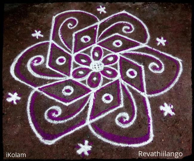 Rangoli: Rev's daily kolam 03.