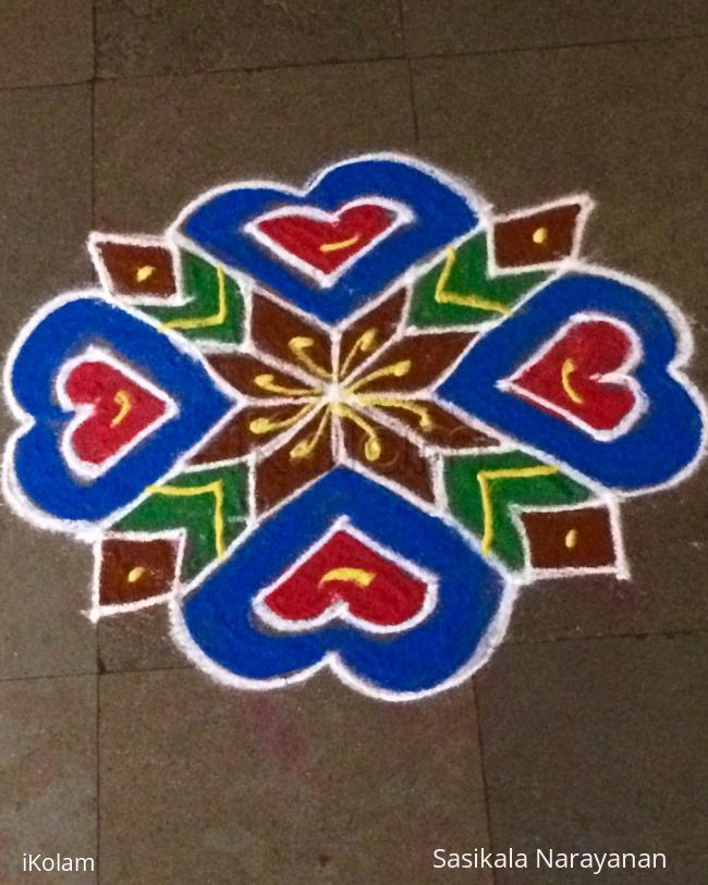 Rangoli: Navaratri