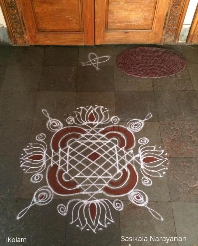 Rangoli: Sasi kolam 1