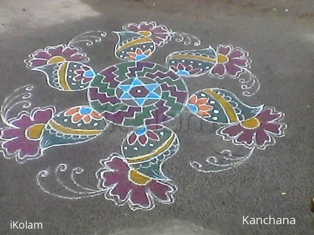 Rangoli: Kaanum Pongal 2017