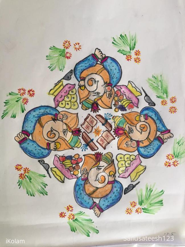 Rangoli: Vinayaka chavithi special.