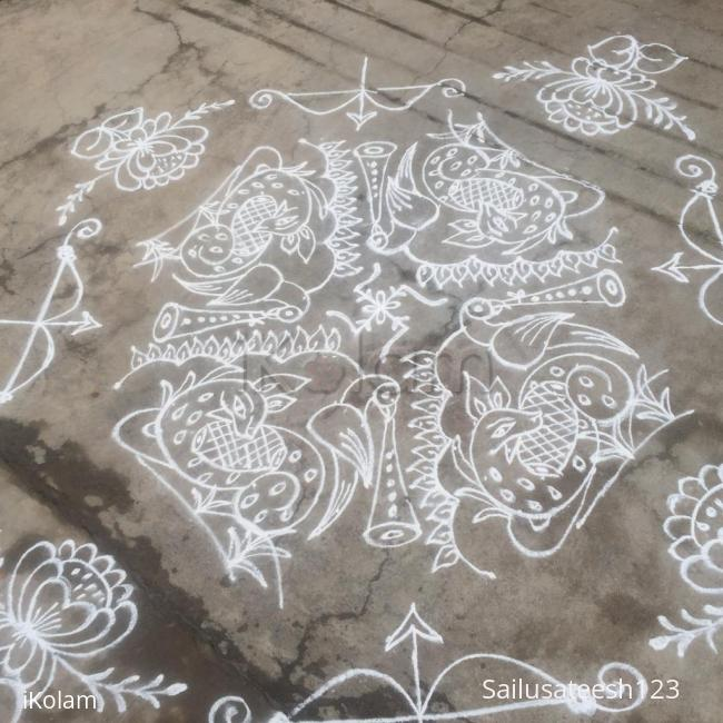 Rangoli: Happy Sri ramnavami