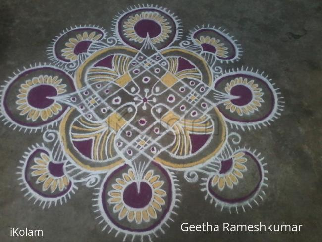 Rangoli: Friday kolam!
