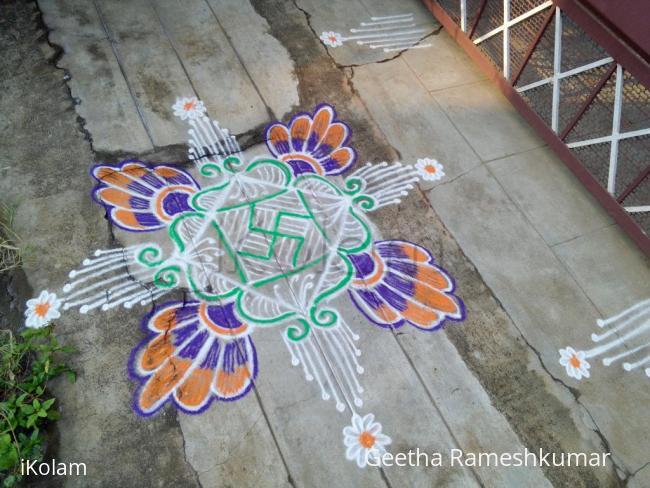 Rangoli: my daily kolam