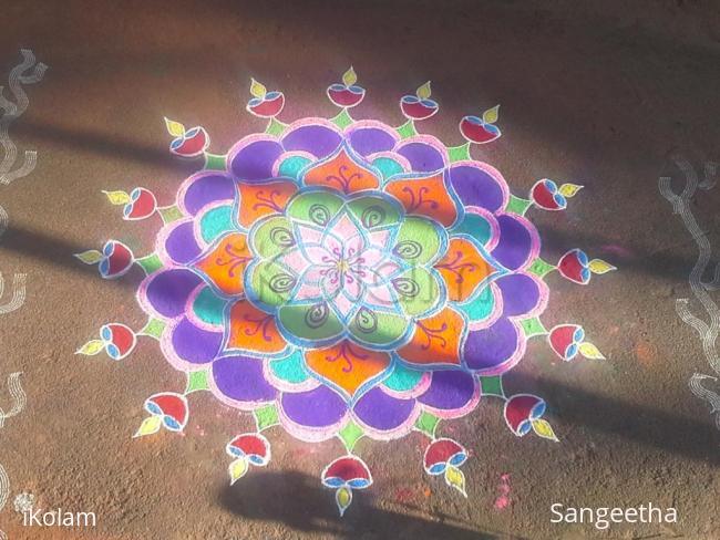 Rangoli: diwali rangoli