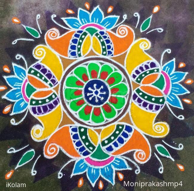 Rangoli: colourful rangoli
