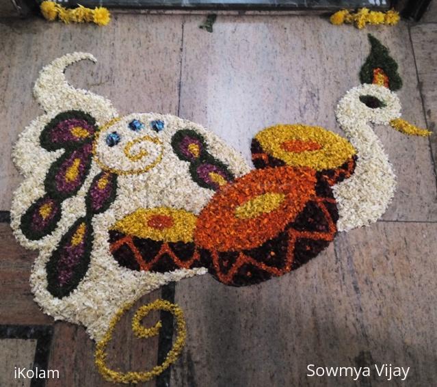 Rangoli: Happy Onam 2014
