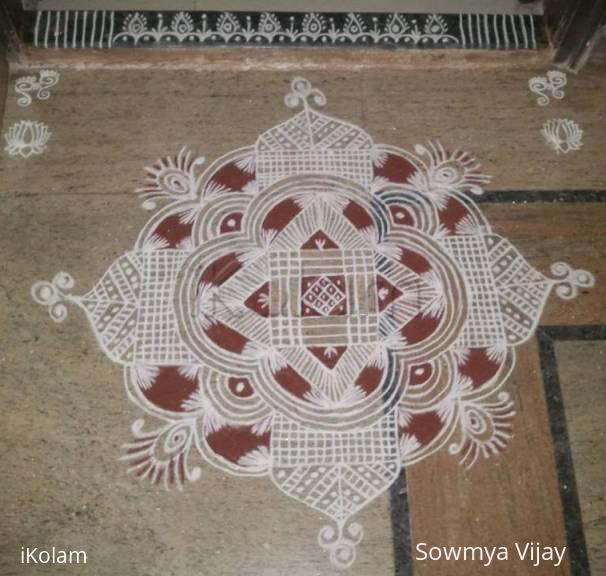 Rangoli: Friday Kolam -1