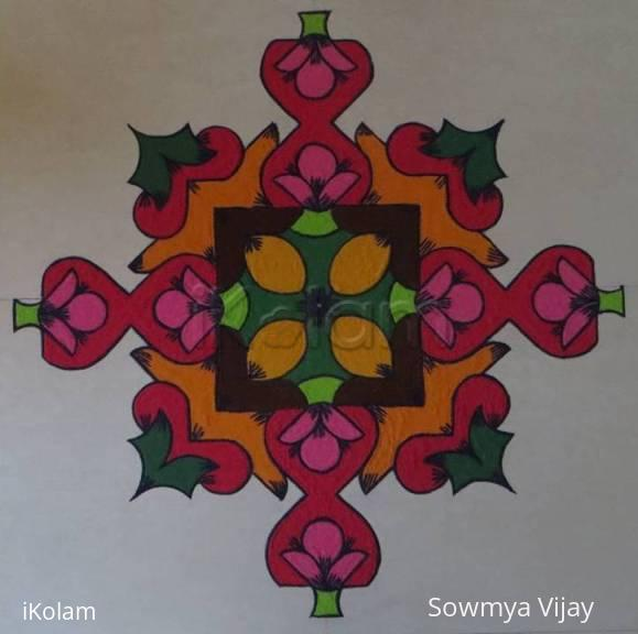 Rangoli: Happy Deepavali 2014