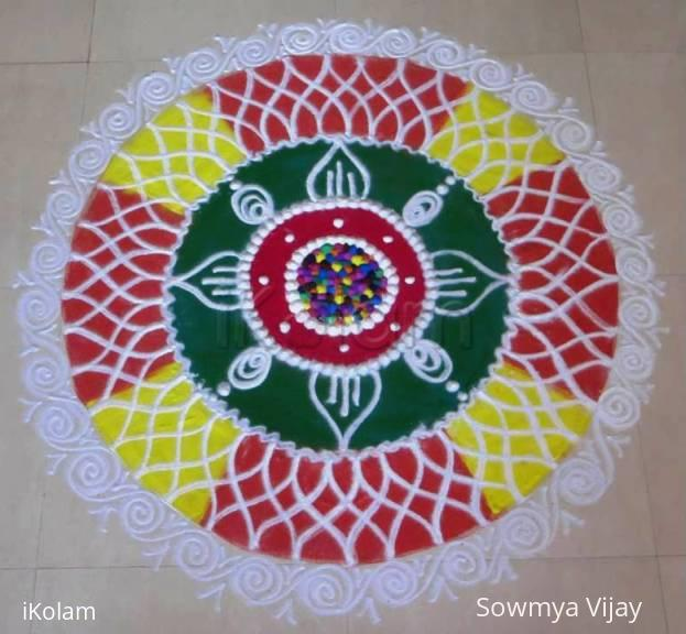 Rangoli: Happy Holi 2015