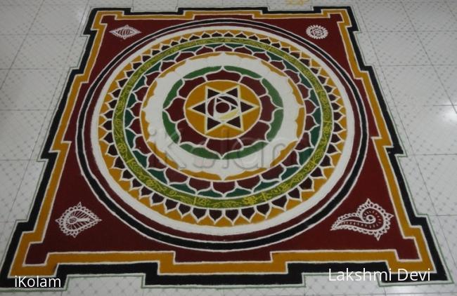 Rangoli: Happy chandamana Ugaadi