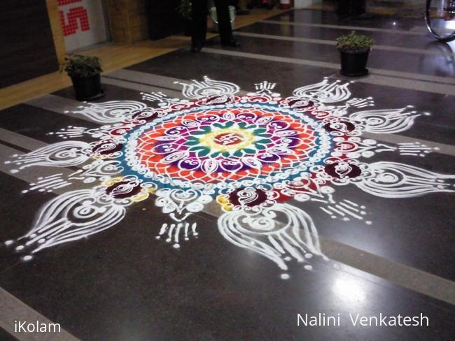 Rangoli: Diwali rangoli contest 2011