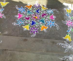 Rangoli: my sankranthi kolam 2012