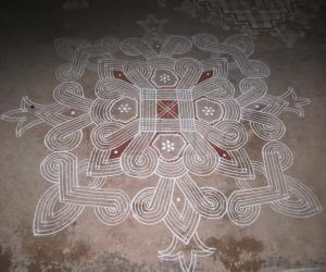 Rangoli: kanya kolam`