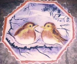 Rangoli: BIRD