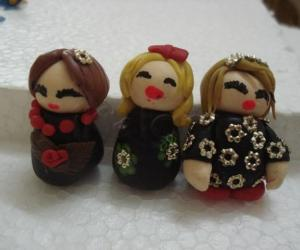 cold porcelain dolls