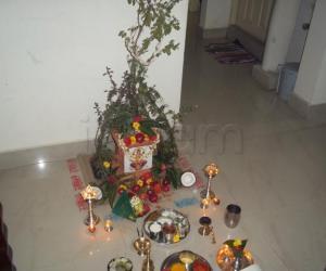 Tulsi Poojan at my home....2011