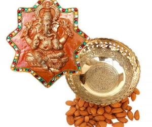Prize for winning aarthi plate contest 2011