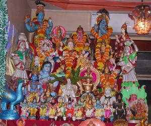 navarathri golu 2016 @ my home mumbai (Nalasopara)