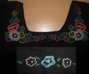 Rangoli: Embroidery