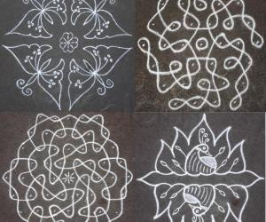 Advanced kolams