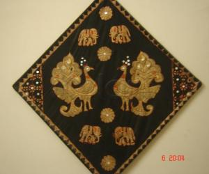 Rangoli: Embroidary