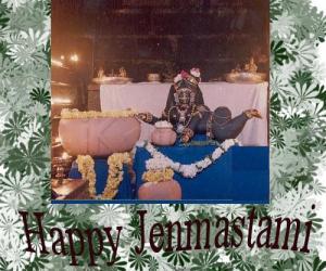 Rangoli: Happy jenmastami