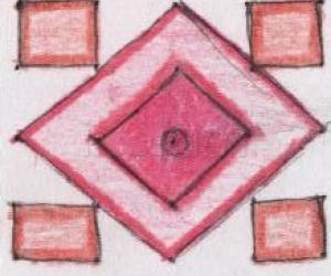 Rangoli: 5x5