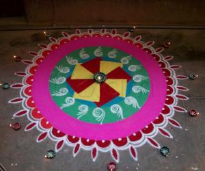 Rangoli: Diwali Rangoli - Contest - 2009