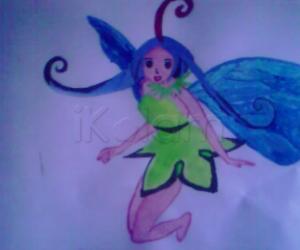 Rangoli: a little fairy
