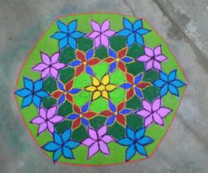 Rangoli: FLORAL WISHES