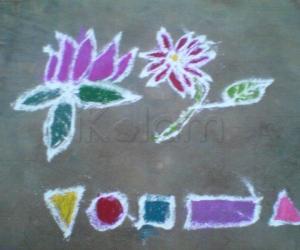 Rangoli: FLOWERS