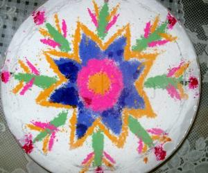 Rangoli: Rangoli On Water