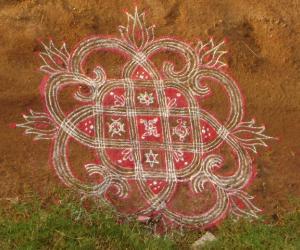 Rangoli: special kolams