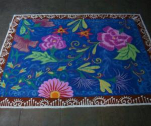 Rangoli: another magic carpet