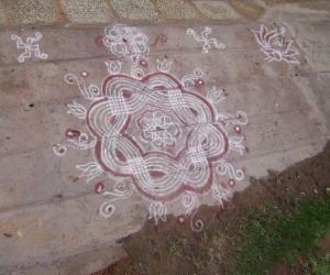 Rangoli: kolam for friday