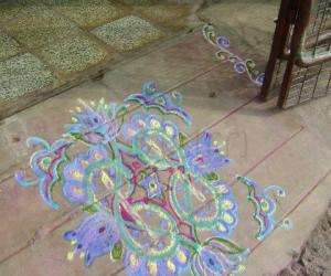 Rangoli: Pavithram rangoli