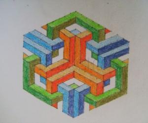 Rangoli: Geometric Kolam 2