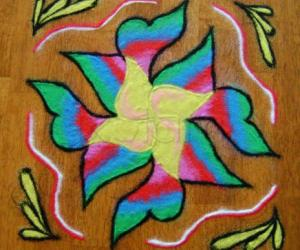 Rangoli: Second (For the want of a better name) :)