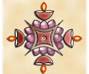 Happy Navrathri! Rangoli