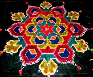 Diwali Rangoli - contest-2009