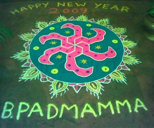 Rangoli: New Year