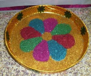 Rangoli: Decorative Thattu