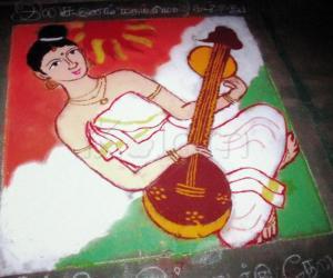 Rangoli: Music has no religion, language, race !