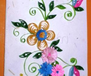 Rangoli: Greeting card