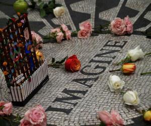 Rangoli: John Lennon's 69th Birthday