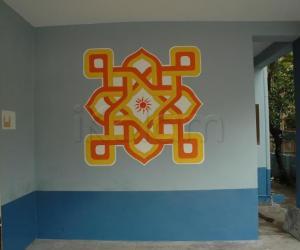 Rangoli: Wall Rangoli