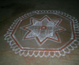 Rangoli: padikolam