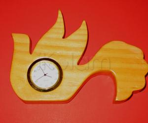 Rangoli: Bird clock