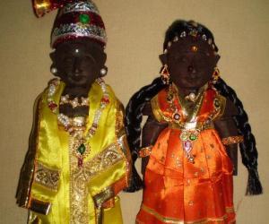 Rangoli: Golu marapachi doll